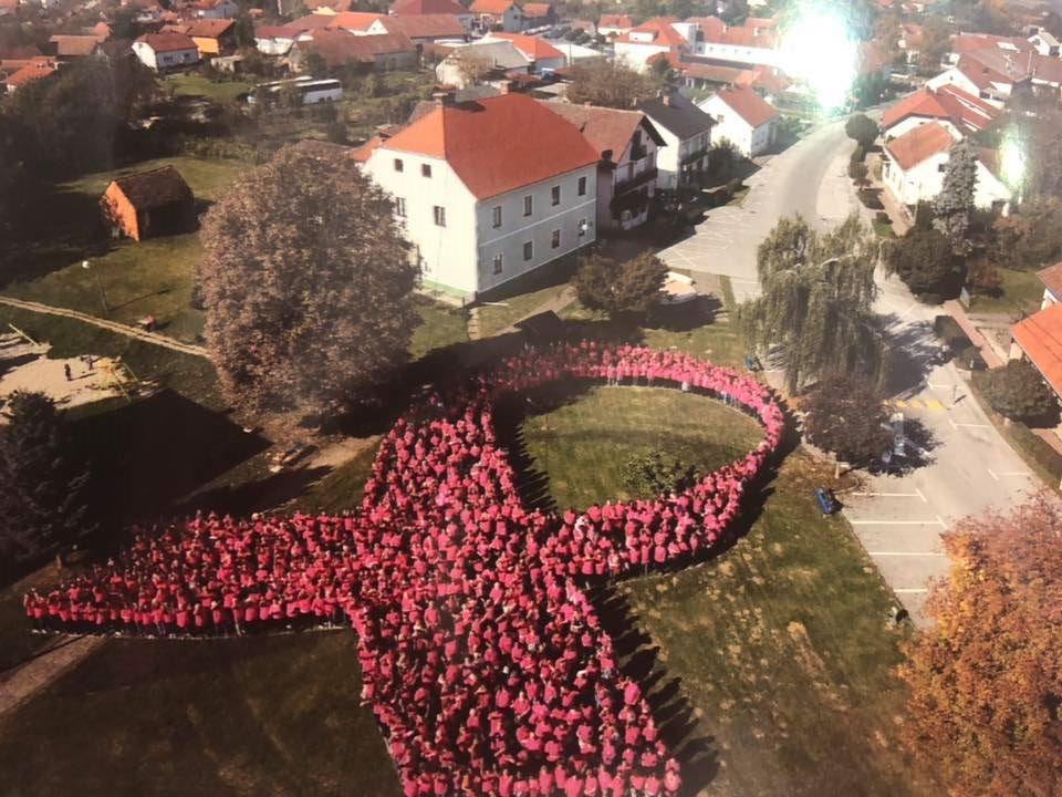 6. milenijska fotografija Ružičaste vrpce – Dubrava
