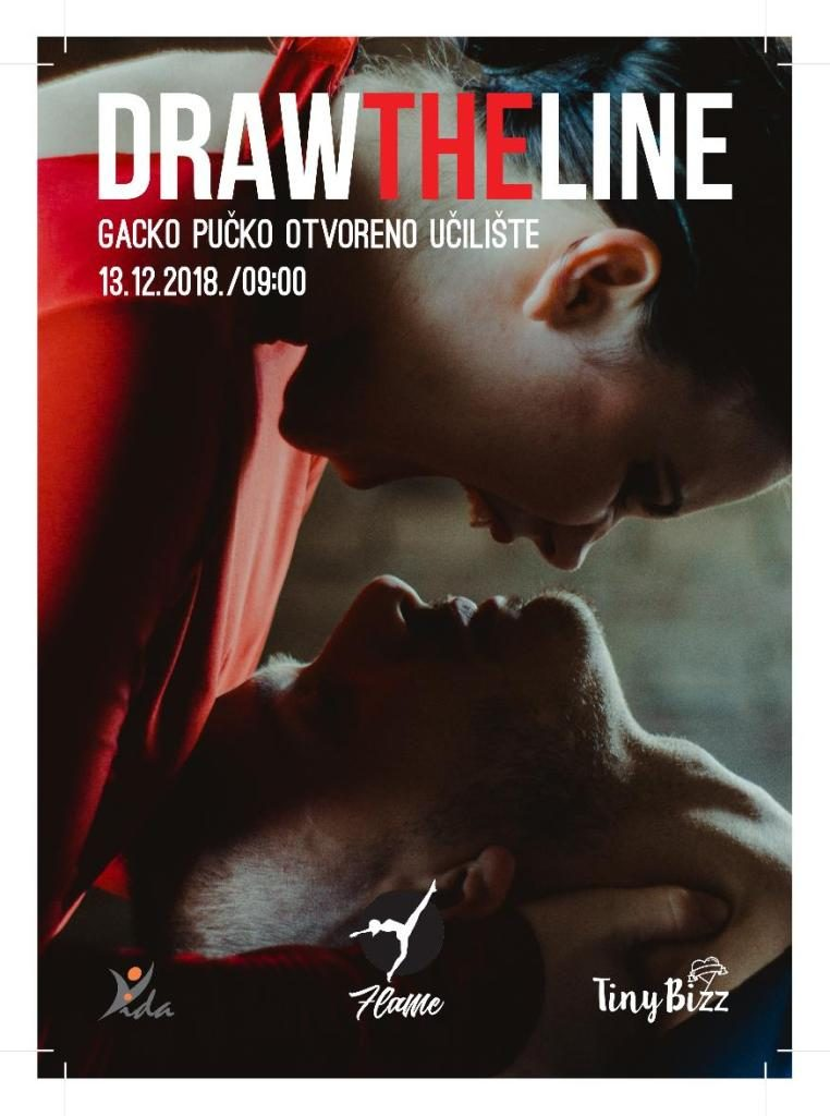 Draw the line u Otočcu