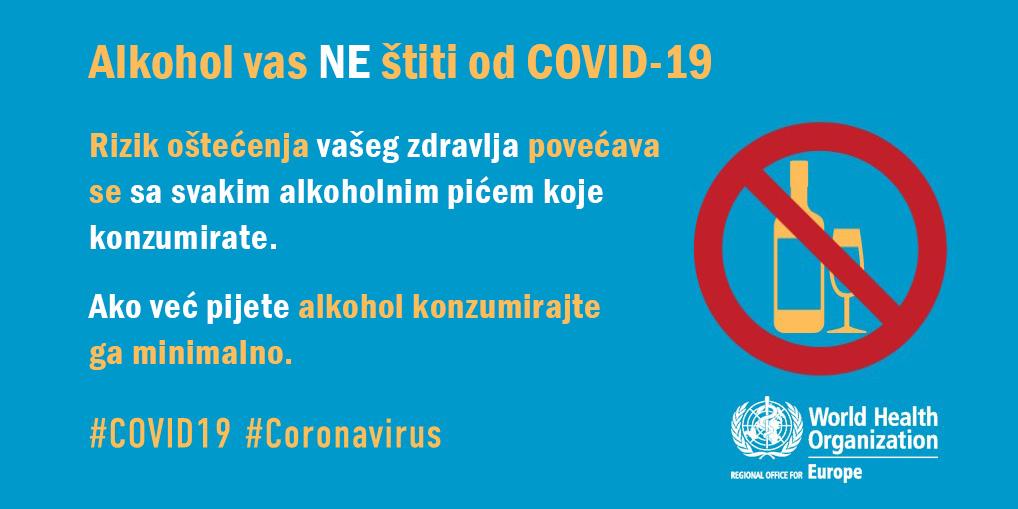 Kažu da me alkohol neće zaštititi od COVID-19!