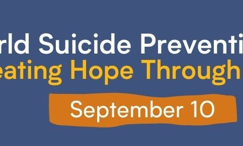 Svjetski dan prevencije samoubojstva – STVARAJMO NADU DJELOVANJEM